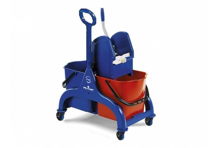 FRED TROLLEY WITH PRESS WRINGER-7965A/P
