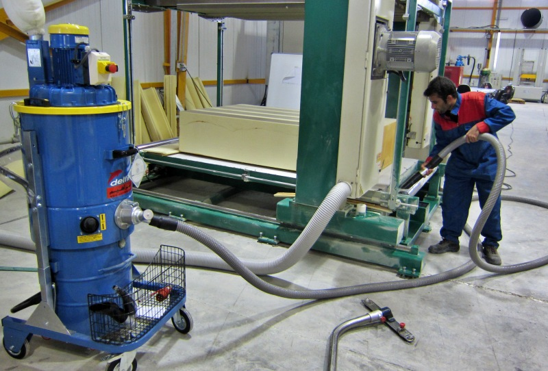 جاروبرقی صنعتی Zefiro 75