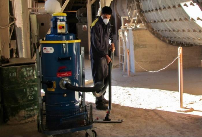 کاربرد دستگاه جاروبرقی صنعتی