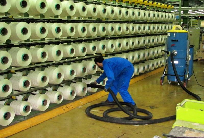 استفاده از جاروبرقی صنعتی در صنایع