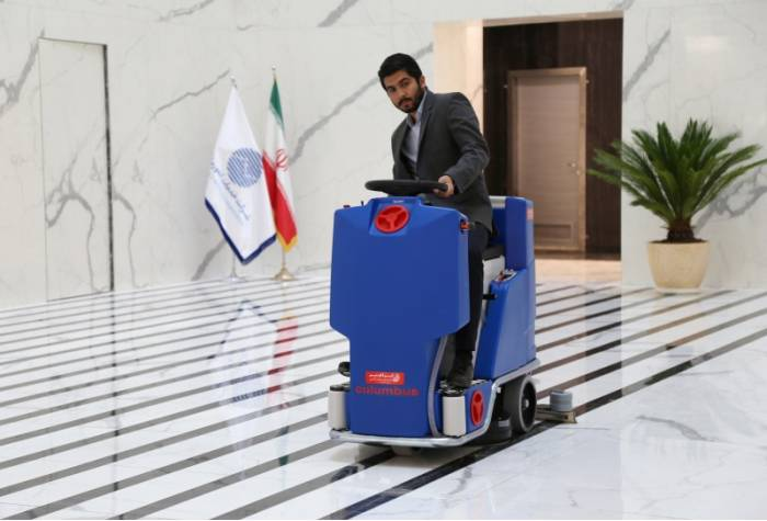 floor scrubber for office