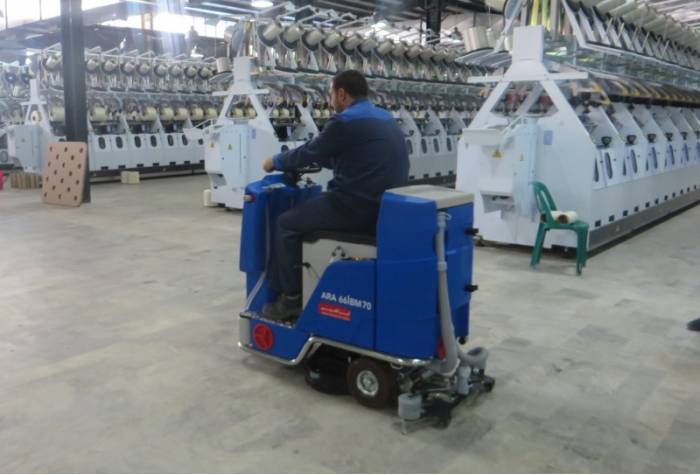 floor scrubber for factory