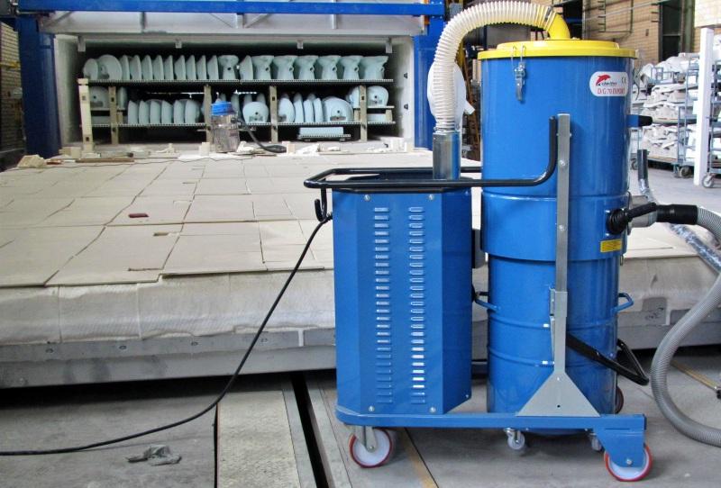 سهولت استفاده از جاروبرقی صنعتی