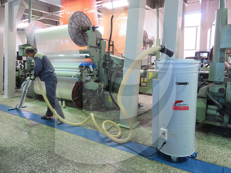 سهولت استفاده از جاروبرقی صنعتی مکش الیاف