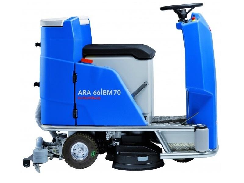 نمای کناری اسکرابر خودرویی  ARA 66BM 70 silent