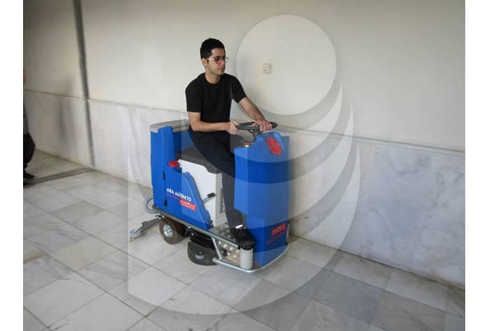 نظافت محیط های حساس با زمین شوی صنعتی