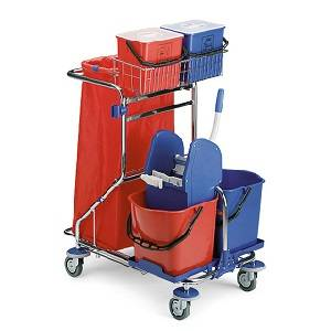 ترولی نظافتی  - MULTIPURPOSE SMART TROLLEY - SMART 7230