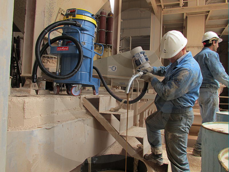 انتقال مایعات در صنایع سیمان بوسیله مکنده