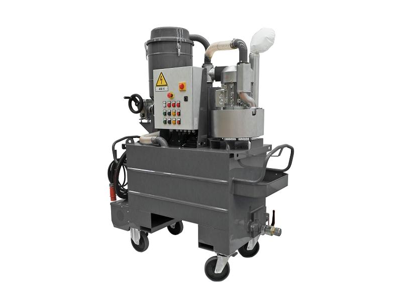 جاروبرقی صنعتی تخصصی مکش مواد نفتی Tecnoil450T55