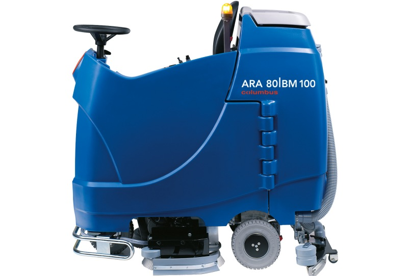نمای کناری اسکرابر خودرویی  ARA 80BM 100