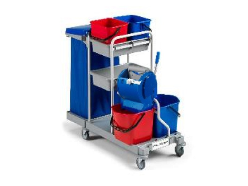 MULTIPURPOSE TROLLEY MAX-3 for cleaning purpose
