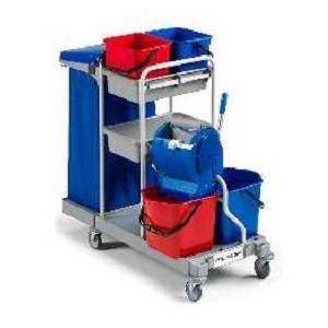 ترولی نظافتی  - MULTIPURPOSE TROLLEY MAX-3 - MAX-3