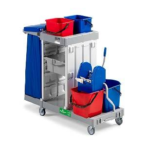ترولی نظافت  - MULTIPURPOSE TROLLEY ALPHA 5107 - ALPHA 5107