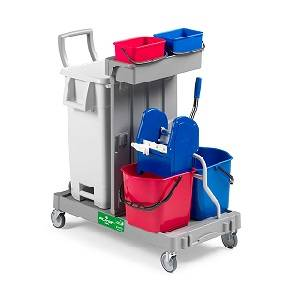 ترولی نظافتی  - MULTIPURPOSE TROLLEY ALPHA 0401402 - ALPHA 0401402
