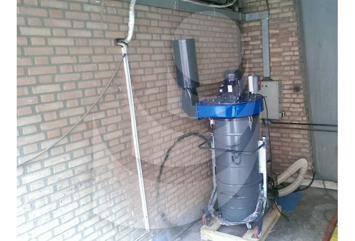 نمایی از غبار گیر صنعتی EVAP560