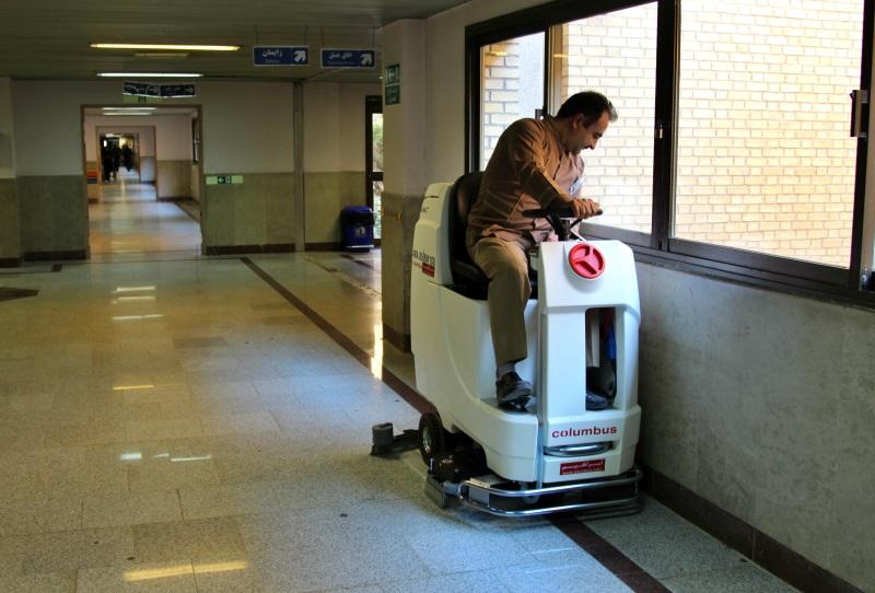 ضد عفونی کردن بیمارستان با زمین شوی