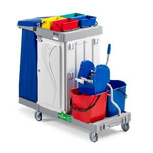 ترولی نظافت  - MULTIPURPOSE TROLLEY ALPHA 6102 - ALPHA 6102