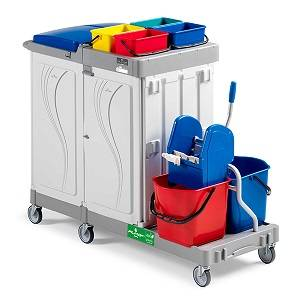 ترولی نظافت  - MULTIPURPOSE TROLLEY ALPHA 8104 - Alpha 8104