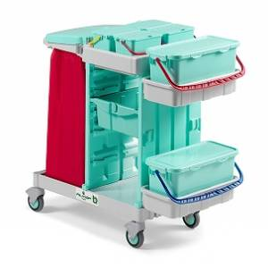 ترولی آنتی باکتریال 0503700 ALPHA  - ANTIBACTERIAL Trolley AB-PLUS ALPHA 0503700 - AB-PLUS ALPHA 0503700
