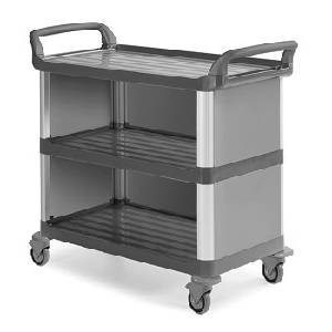 cleaning trolley  - SILVER SERVICE TROLLEY 130116E - Silver Service 1301/16E