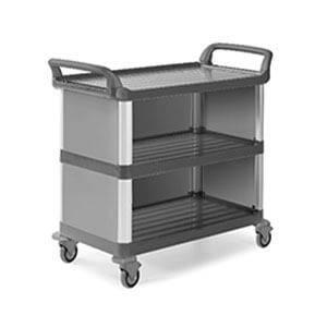 cleaning cart  - SILVER SERVICE TROLLEY 130116E - Silver Service 1301/16E