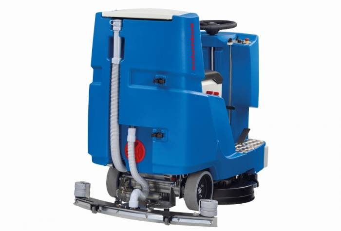 ride-on floor scrubber columbus