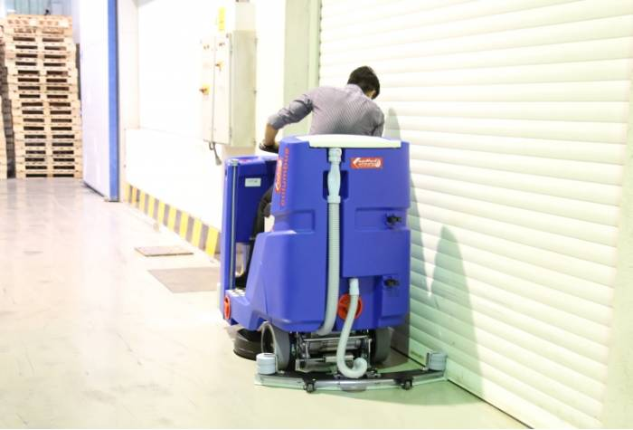 floor scrubber for industries