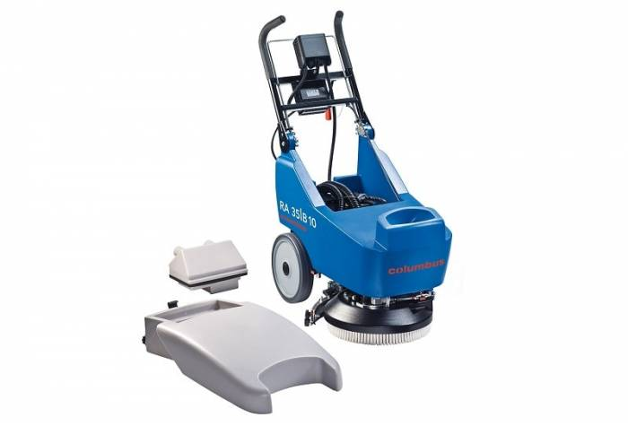 35b10 walk behind floor scrubber dryer