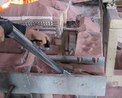 نازل خراش دهنده فولادی مکنده