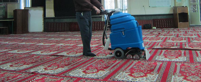 فرش شوی  صنعتی