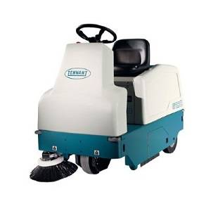 سویپر صنعتی  - heavy duty floor sweeper - 6100 - 6100