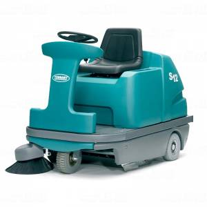 سویپر صنعتی  - heavy-duty floor sweeper-S12 - S12