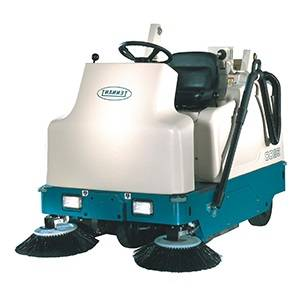 سویپر صنعتی  - heavy duty floor sweeper - 6200E - 6200E