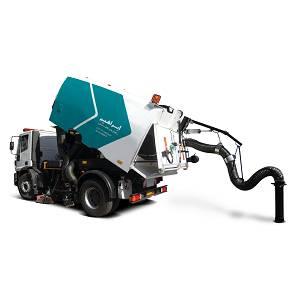 سویپر صنعتی  - street sweeper ES7 - ES7