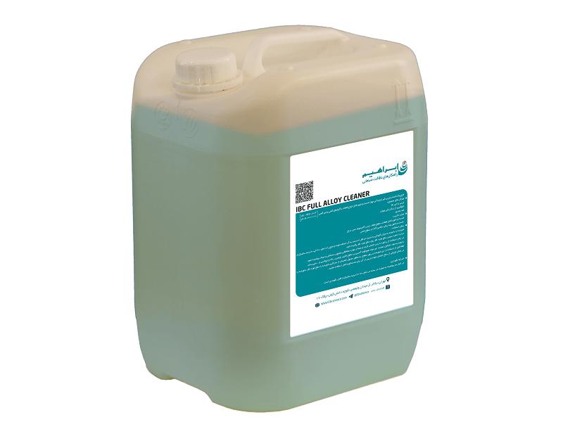 ماده شوینده صنعتی IBC Full Alloy Cleaner