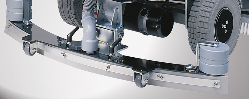 تجهیزات جانبی دستگاه زمین شور صنعتی