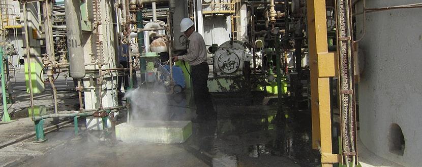 واترجت صنعتی آب گرم
