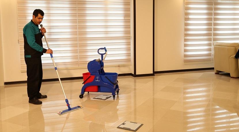 ترولی نظافتی نظافتی