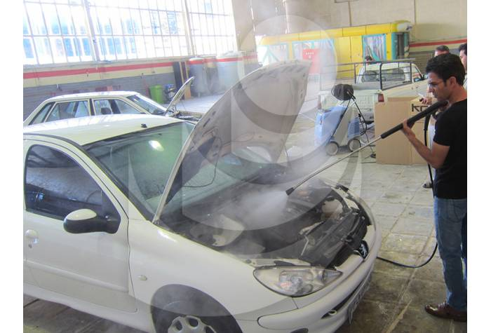 Use water jet Q 1000 TST at the carwash