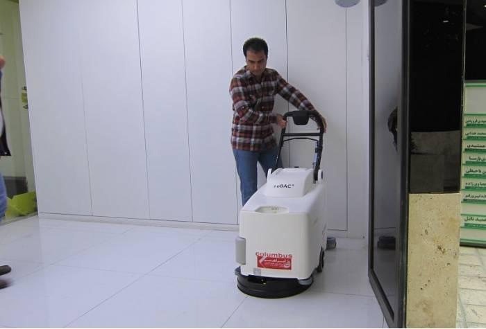 RA 43 B20 noBAC scrubber dryer