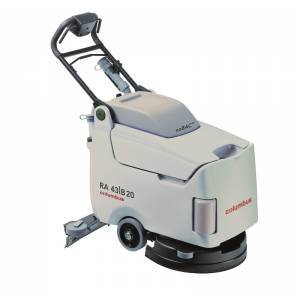IND floor cleaning machine  - walk-behind scrubber dryer-RA43B20noBAC - RA43B20noBAC
