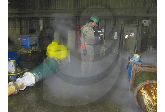industrial equipment washing with hot water industrial waterjet T 895-1