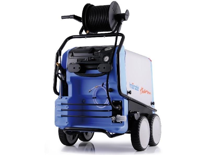 کارواش بخار الکتریکی Therm E-M 24 با گرم کن الکتریکی و طراحی پرتابل