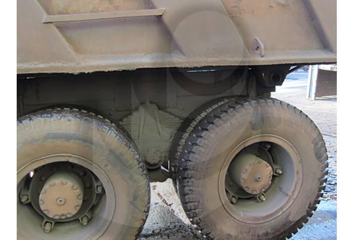 کامیون قبل از شستشو با واترجت آب سرد فشار قوی E 500/17