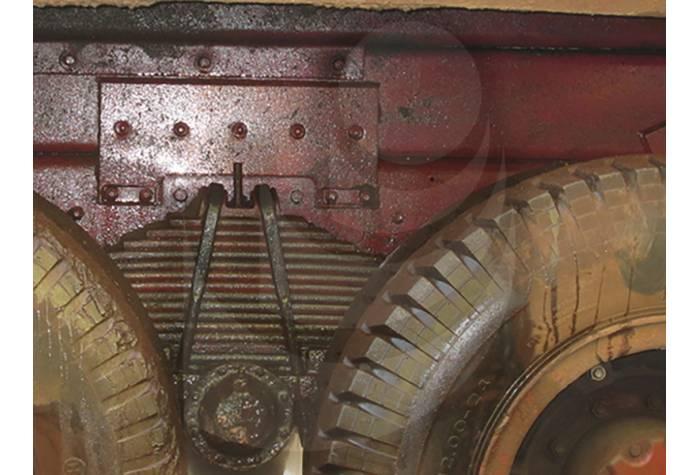 کامیون بعد از شستشو با واترجت آب سرد فشار قوی E 500/17