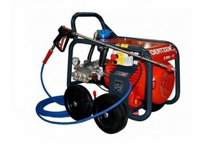 کارواش صنعتی و واتر جت صنعتی E500-17  دارای سیستم های ایمنی پیشرفته