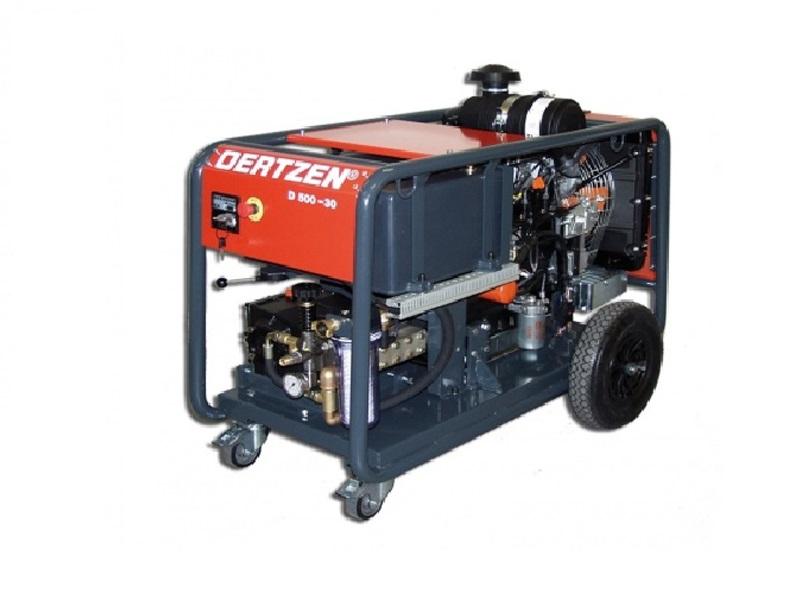 کارواش صنعتی آب سرد D 500-30 مجهز به موتور دیزلی