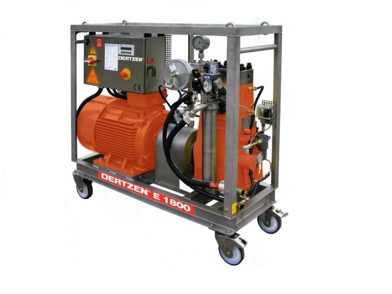 کارواش صنعتی فوق فشار قوی E1800 با موتور الکتریکی سخت کار