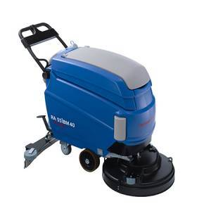دستگاه زمین شور  - walk-behind scrubber dryer- RA55BM40 - RA55BM40