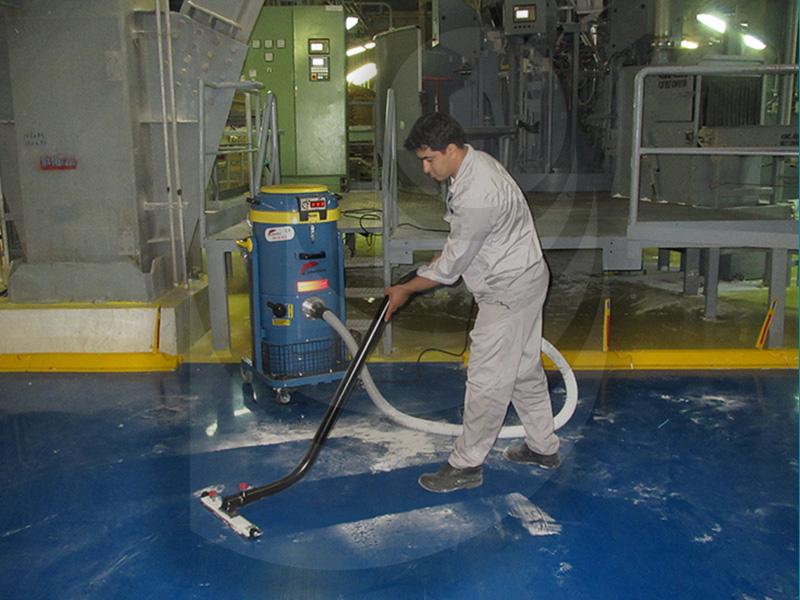 استفاده از جاروبرقی صنعتی در صنایع پتروشیمی